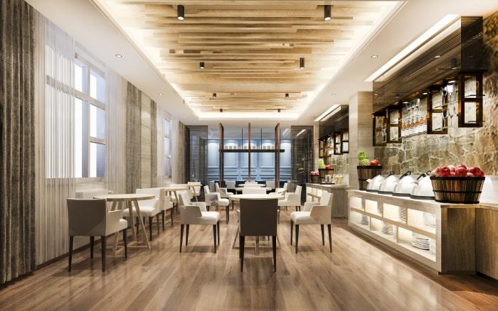 Los clientes gastan más en restaurantes limpios