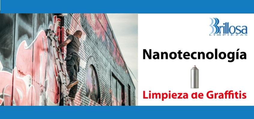 Limpieza de graffitis con nanotecnología